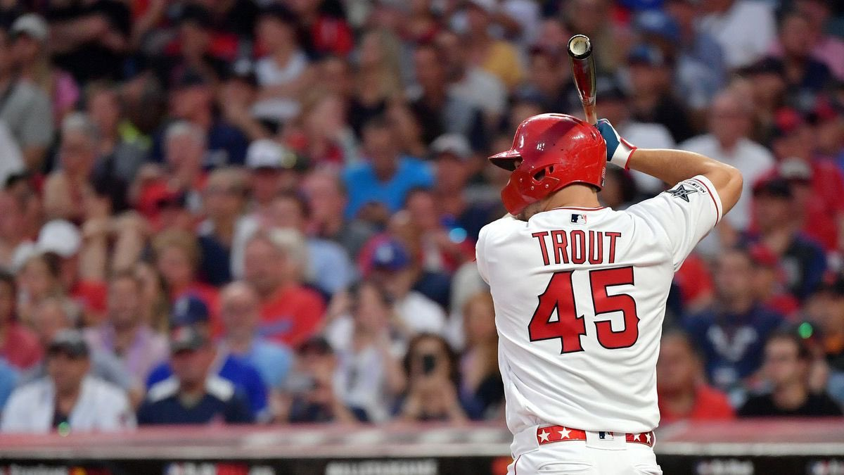 @MikeTrout will finish his season with 45 home runs. #TheHaloWay  <br>http://pic.twitter.com/RSGD8YHwna