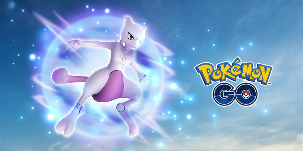 Mewtwo will be returning to five-star raids tomorrow. 😨🌟🌟🌟🌟🌟 Are you ready?