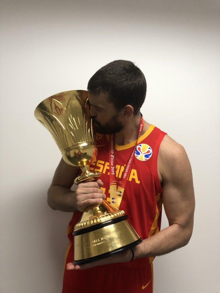 A year to remember. Felicidades, @MarcGasol! #WeTheNorth   #FIBAWC