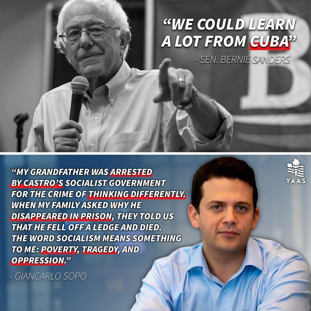 Sorry, Sen. Sanders, but the truth is you could learn a lot from America.<br>http://pic.twitter.com/1N5fpk9zT4