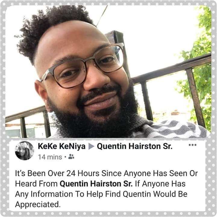 #Blacktwitter I have an #AmberAlert for the #DMV area! My friend from college went missing. Please find him! Please! 😢