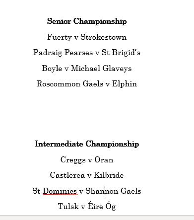 test Twitter Media - The Draw for Senior and Intermediate Championship Quarter Finals #rosgaa #gaa #GAABelong https://t.co/n9NDuyDdQ1