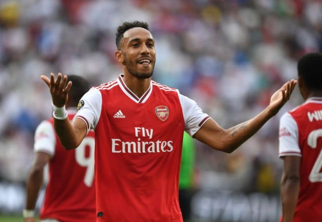 Pierre-Emerick Aubameyang has now scored 14 goals in his last 14 games for Arsenal. 14 in 14 for the number 14. 😉