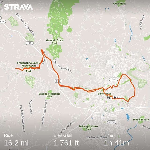 Not real fast but a little hilly. #cycling #cyclinglife #nuunlife #nuunlove #run #runchat #running #runhappy #marathon #marathontraining #instarunner #instarunners #runnerlife #instarun #crosstraining<br>http://pic.twitter.com/2158XMWQx5
