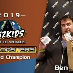 Image for the Tweet beginning: Dice Masters World Champion Ben