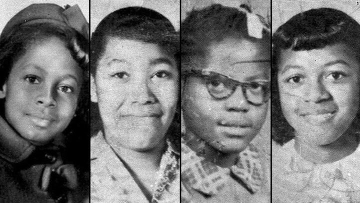 #OTD 56 years ago, the lives of four young black girls were cut short in the 16th Street Baptist Church bombing. Today, let us honor their lives and memories and recommit ourselves to combating hatred and white supremacy in this country. <br>http://pic.twitter.com/u7c7PfJ8CA