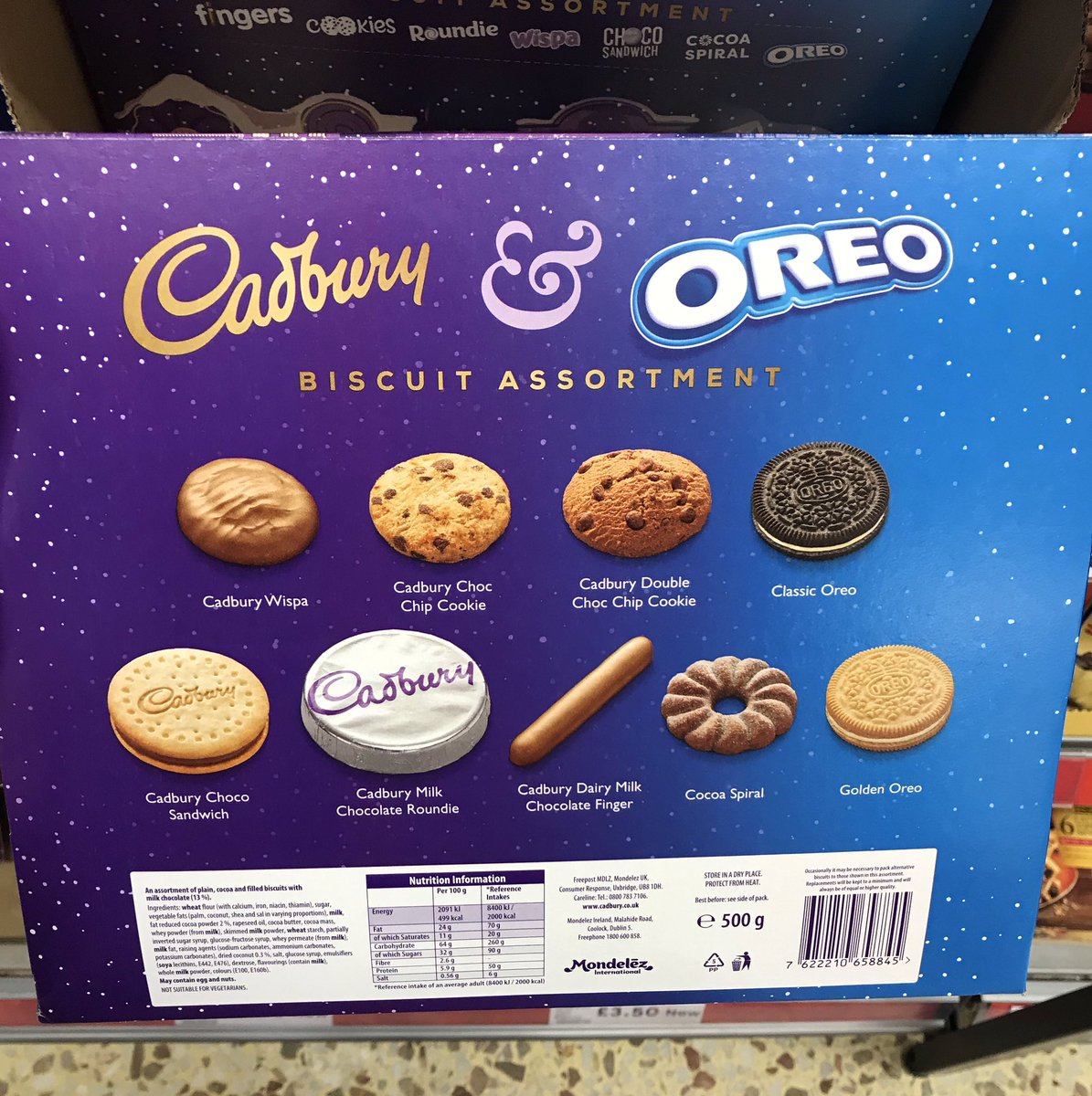 Well This Is New On Twitter Cadbury Oreo Biscuit