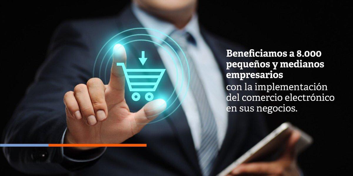 Esta semana participamos en el evento 'Más TIC, mejores Mipymes', estrategia del Gobierno Nacional que benefició a 8.000 mipymes colombianas con la implementación del comercio electrónico en sus negocios.