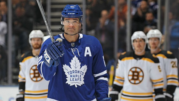Happy 40th birthday to Patrick Marleau - two years a forward and a first-ballot Hall-of-Famer.