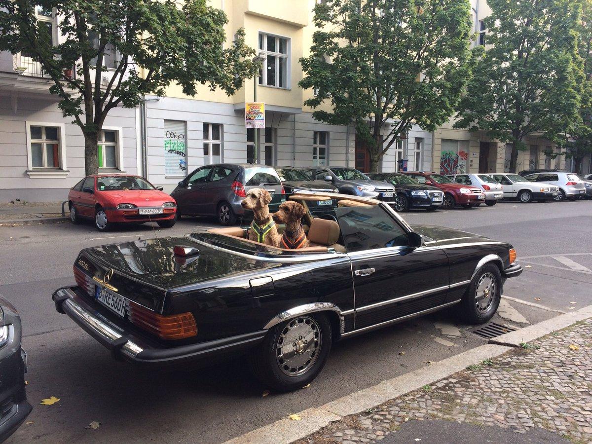 Cena de uma tarde de verão em Berlim