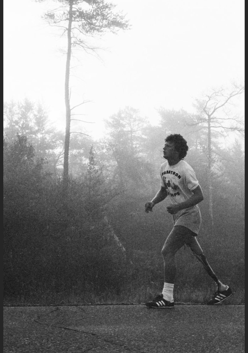 Hero and a true Canadian Icon. #TerryFox
