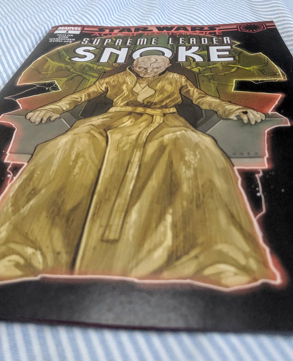 Let's see what this is all about. #starwars #snokecomic