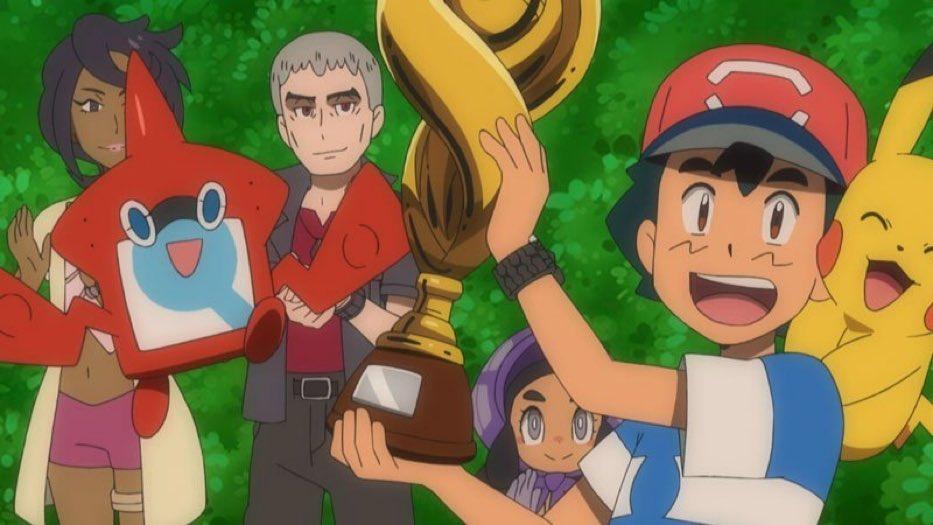 Después de 20 años, por fin Ash pudo ganar la Pokémon League.Mientras tanto, el Cruz Azul...