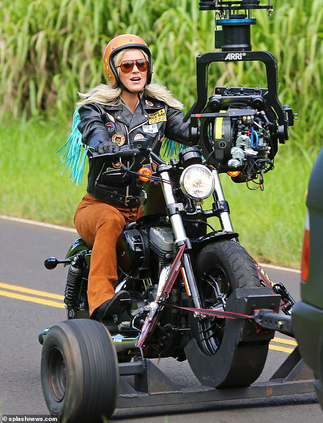 """The """"Small Talk"""" MV video was recorded just 13 days before its release while the """"Harleys In Hawaii"""" MV has been in the making for over 2 MONTHS.  Something BIG must be coming. 🔥"""