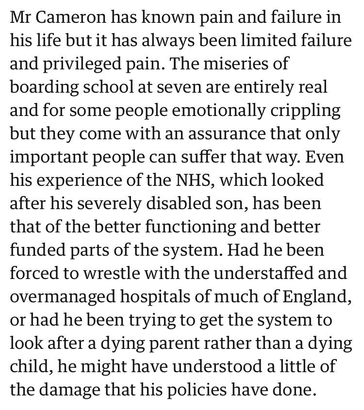 Guardian Apologizes For Saying David Cameron — Whose Disabled Son Died — Can Only Experience 'Privileged Pain'
