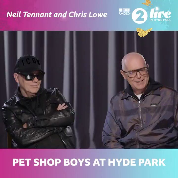 """We can go back to being recluses now!"" We had a rare chat with @PetShopBoys ahead of their headline set in Hyde park about their collaboration with @yearsandyears & more.📺📲💻  Stream the gig live on @BBCiPlayer & @BBCSounds or watch on @BBCFour from 8pm. 