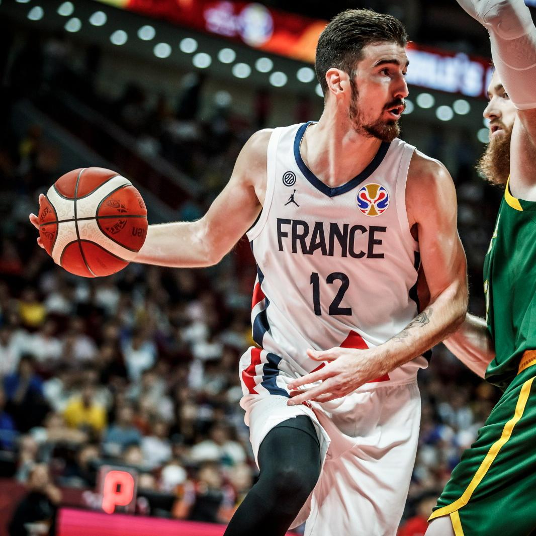 📽️ Nando De Colo (@NandoDeColo) was the ❌ factor in @FRABasketball 🇫🇷's win at the #FIBAWC's Bronze Medal Game!  With 19 points coming off the bench, he was named the @TclCorporation Player of the Game from #FRAAUS! #BornToLead