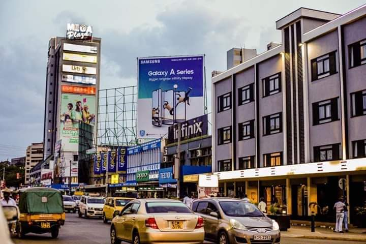 Kisumu CBD The city is just as clean as Rwanda