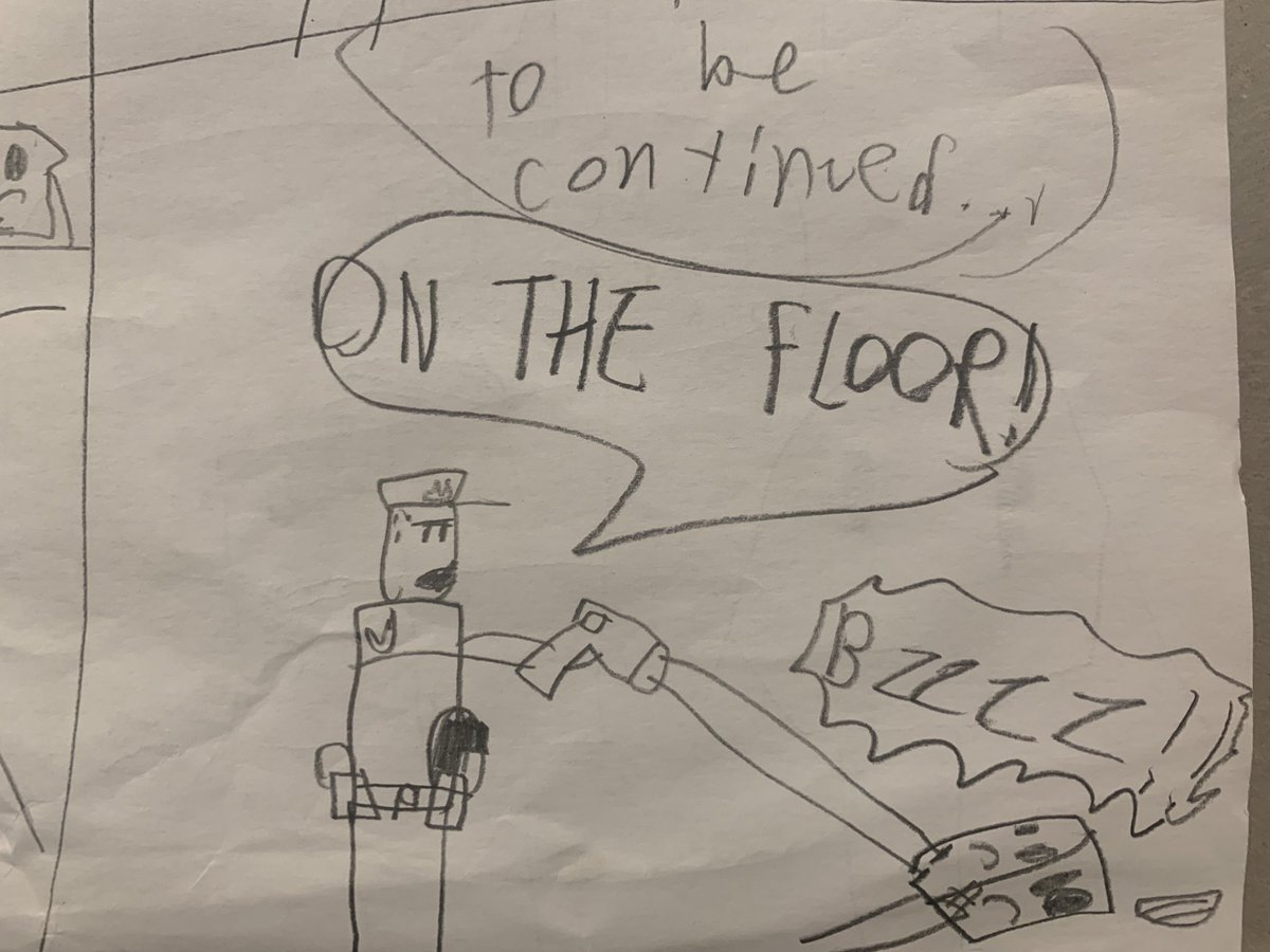 Panel 8: TO BE CONTINUED!!!
