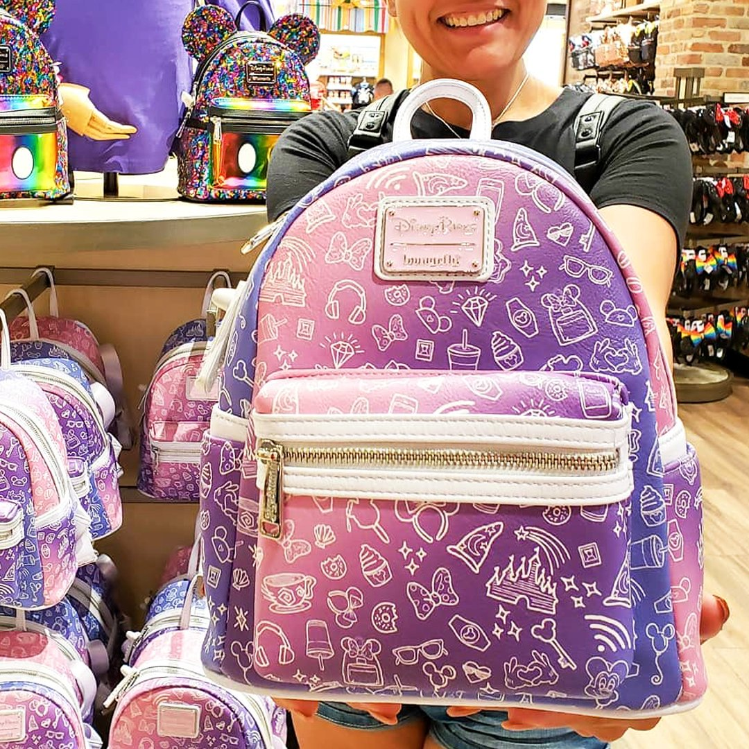 Loungefly On Twitter Is Your Favorite Disney Parks Icon Featured In Our Latest Mini Backpack Let Us Know What Design You Want To See Next Https T Co 3vgvtyidms Loungefly