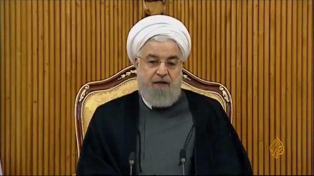 روحاني: #إيران جاهزة لإقامة علاقات ودية مع جميع البلدان المجاورة ويجب أن تكون هناك هدنة في #اليمن
