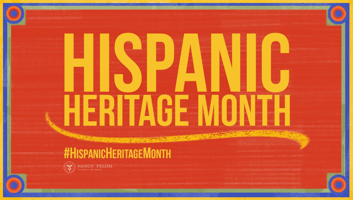 The beauty is in the mix. During #HispanicHeritageMonth, Democrats reaffirm our unwavering commitment to honoring the remarkable culture and rich traditions of our Latino friends & neighbors. https://www.speaker.gov/newsroom/91519