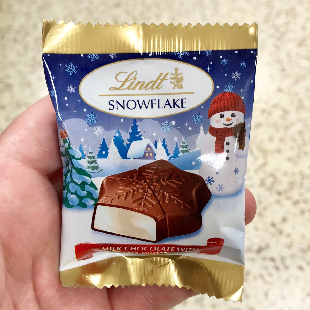 Well This Is New On Twitter Lindt Snowflake At