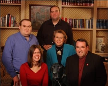 Happy Birthday Ed! Enjoy this weird picture of the Huckabee family!