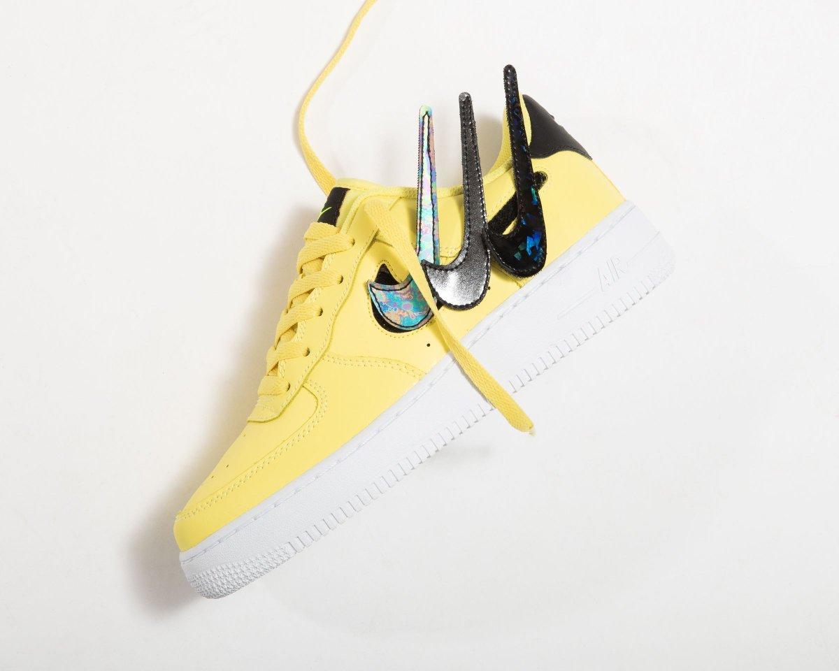 Titolo בטוויטר Newarrival Nike Air Force 1 Low Gs Yellow Pulse S H O P Https T Co G3a33wawpp Us 4y 36 Us 7y 40 Style Code Ar7446 700 Nike Af1 Airforce1