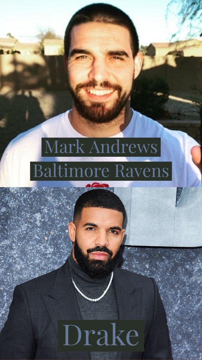 Ja repararam como o Mark Andrews do Ravens parece o Drake? #NFLnaESPN #SundayNightFootball #nflespn #NFLBrasil #NFLSunday https://t.co/3bsrUWcPO9