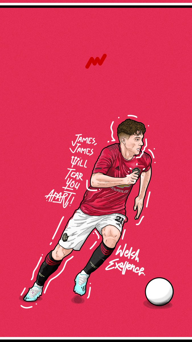 I'm gonna drop this here. Daniel James Lockscreen, not the greatest work I've ever done but, I like to draw our new Welsh wizard! @ManUtd @Daniel_James_97 #DanielJames #mufc #LockScreen