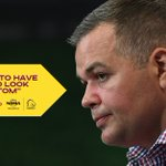 Image for the Tweet beginning: Anthony Seibold talks to the