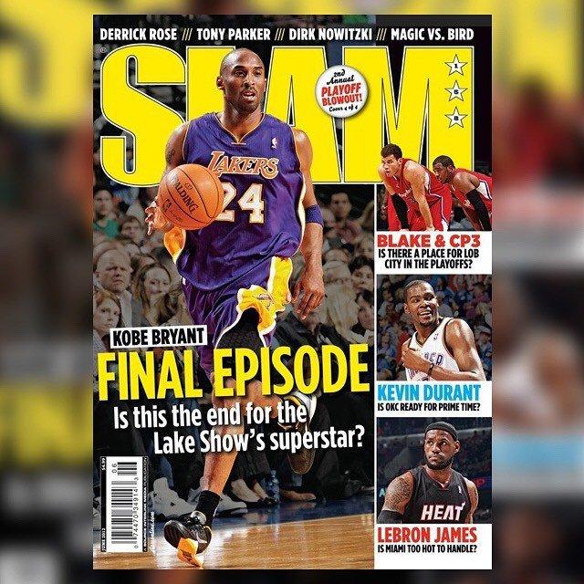 158c. #kobebryant alternate cover (LeBron James and Dwyane Wade or Kevin Durant or Derrick Rose) #slam #myslam #slammagazine #lakers #lalakers #lakersnation #kobe #blackmamba  https:// ift.tt/2AnjRlu    <br>http://pic.twitter.com/t53AKseJAf