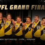 Image for the Tweet beginning: The @RichmondVFL Tigers take on