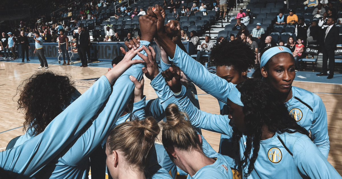 What an incredible season for @wnbachicagosky. So proud of this team. Some of the hardest working, talented, and fierce competitors I've ever seen. Thanks to the organization, players, @coachjameswade and staff, & #Skytown fans who made this such a memorable summer. #Finals2020!