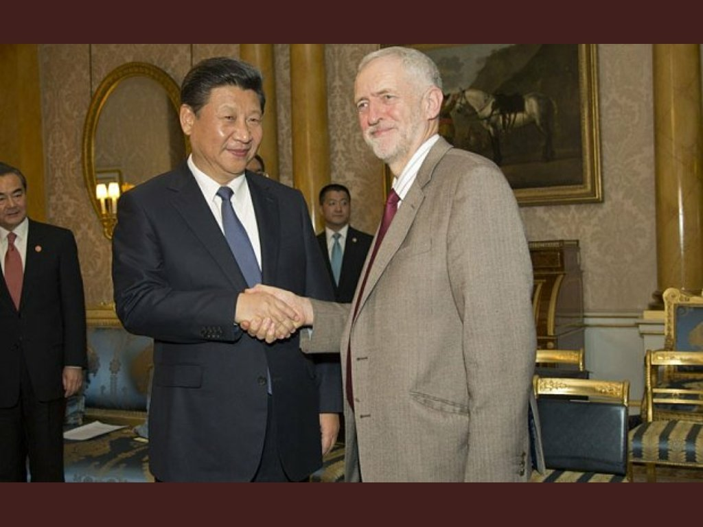 @Telegraph Is Trump afraid of being upstaged by Corbyn because he has been more sympathetic too communist regimes longer ?