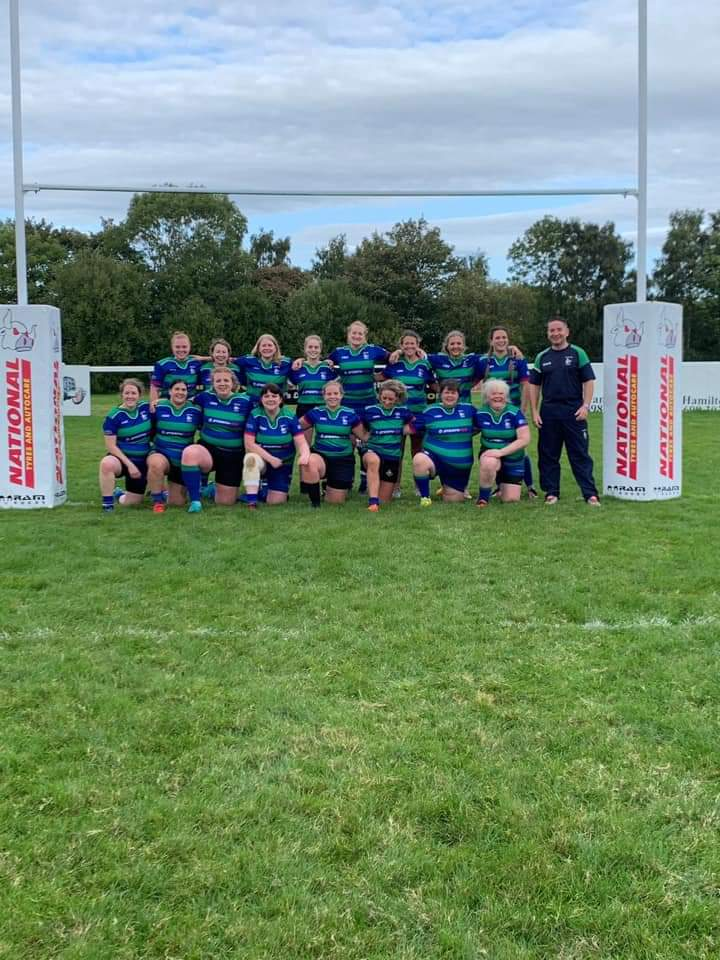 Great day playing with @HamiltonBulls ladies 1XV. Loads of effort and improving week by week #womensrugby #rugbysisters