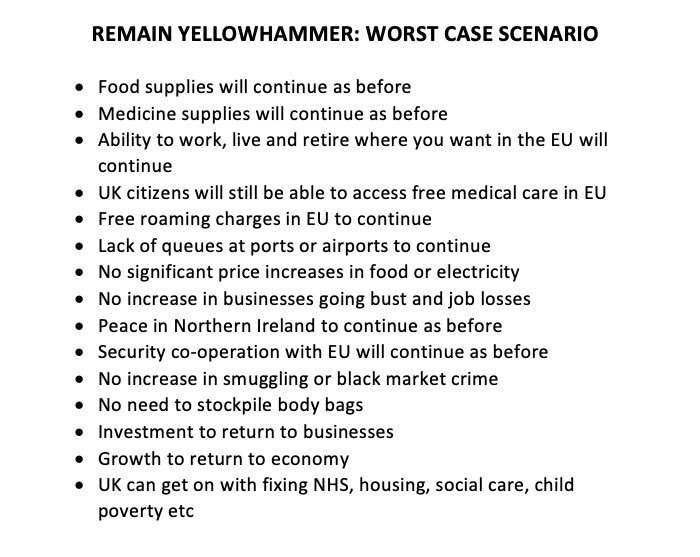 Warning: this is what will happen if we #RevokeA50   Why are leavers frightened of this? <br>http://pic.twitter.com/o61Zuuta1W