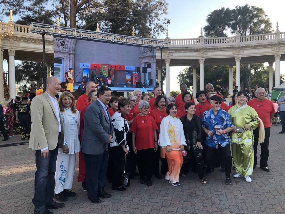 It was fun watching the Moon Festival performances yesterday at Balboa Park with Provost Hector Ochoa and his wife Mari Ochoa.  The event was co-sponsored by the Chinese Cultural Center at SDSU, under the leadership of Dr. Lilly Cheng.