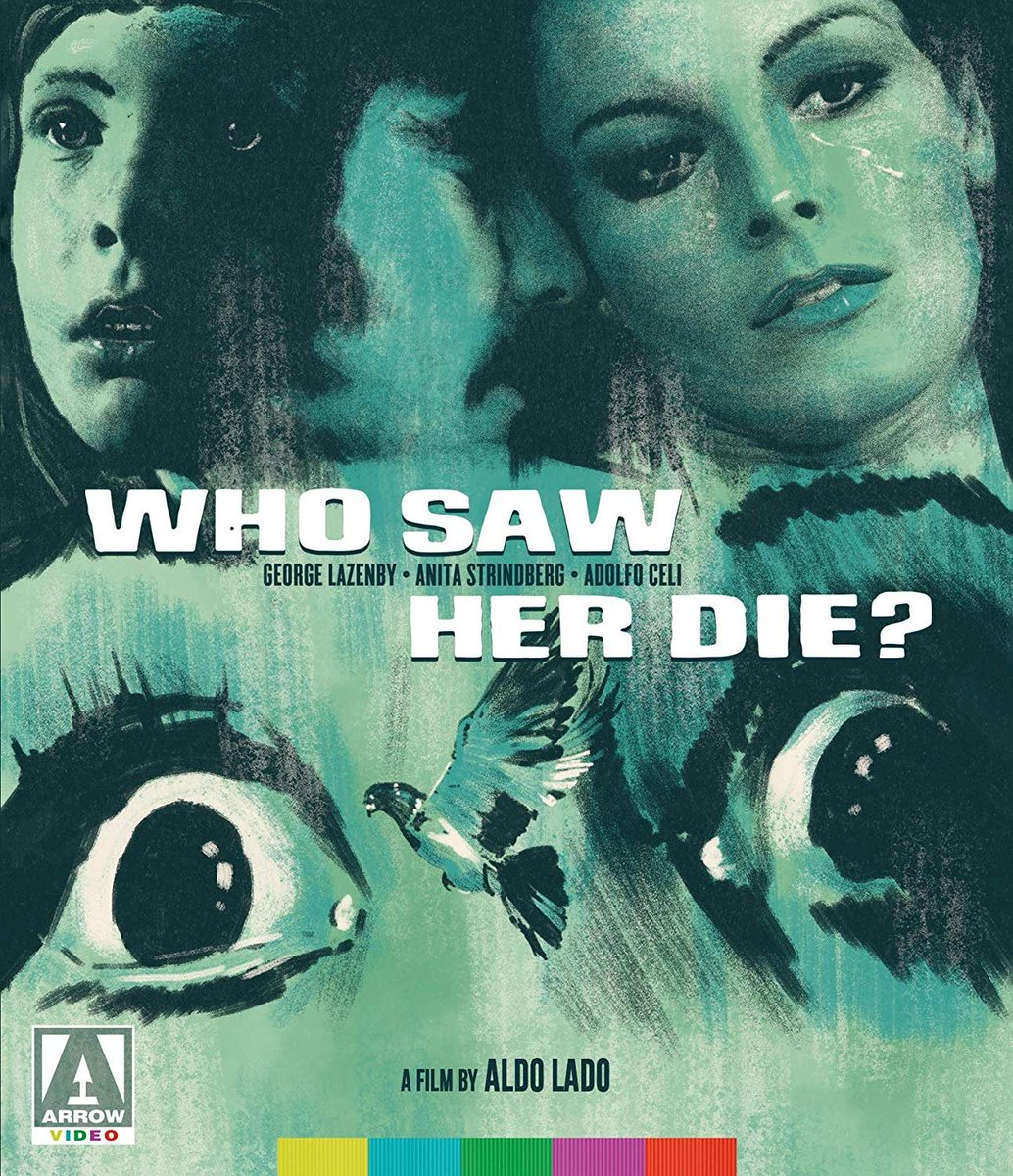 DVDBeaver on Twitter: OUT TUESDAY! Aldo Lado's Who Saw Her