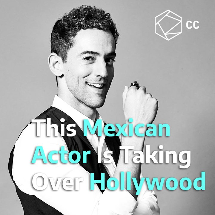 .@LuisGerardoM is putting #Mexicos name high in #Hollywood and around the world with his talent 👏🏽 #IAmLatinx #LatinxHeritageMonth