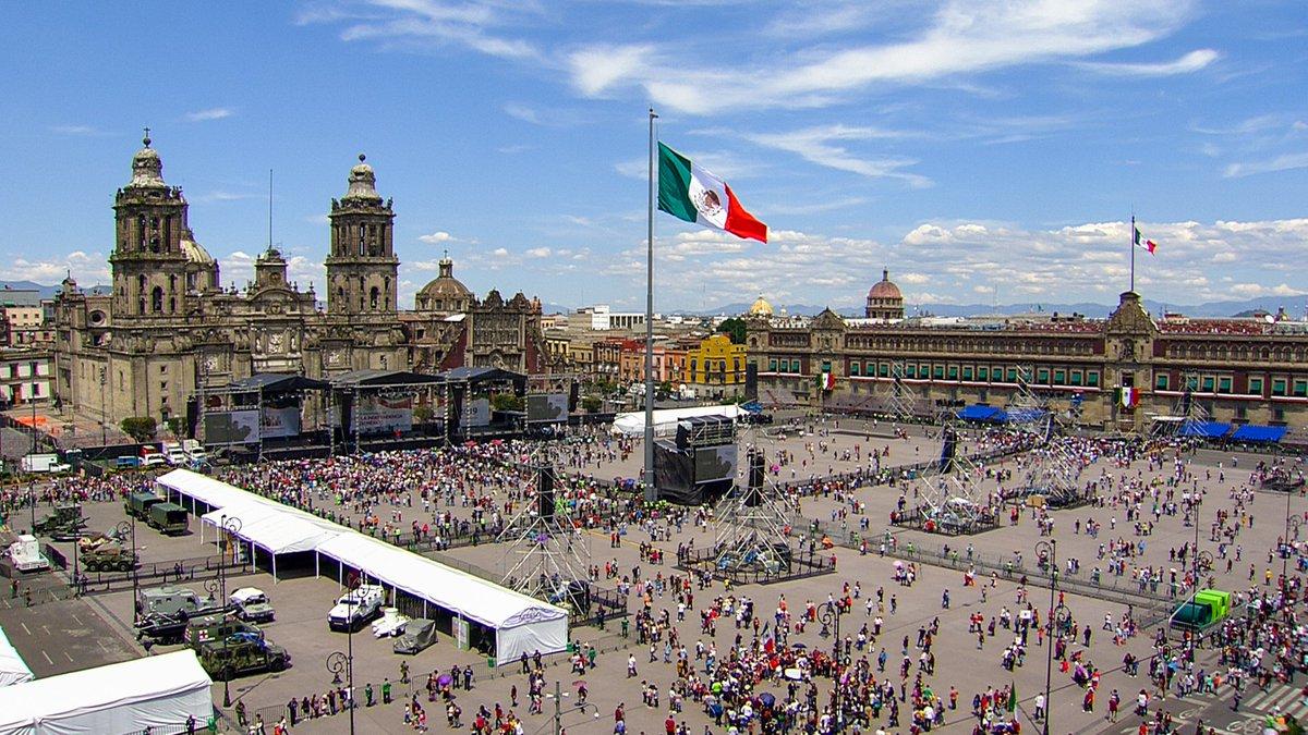 Festival 'Culturas de México' por el 209 Aniversario de la Independencia, desde el Zócalo de la Ciudad de México. #15DeSeptiembre  https://youtu.be/aMLvNvvAawM