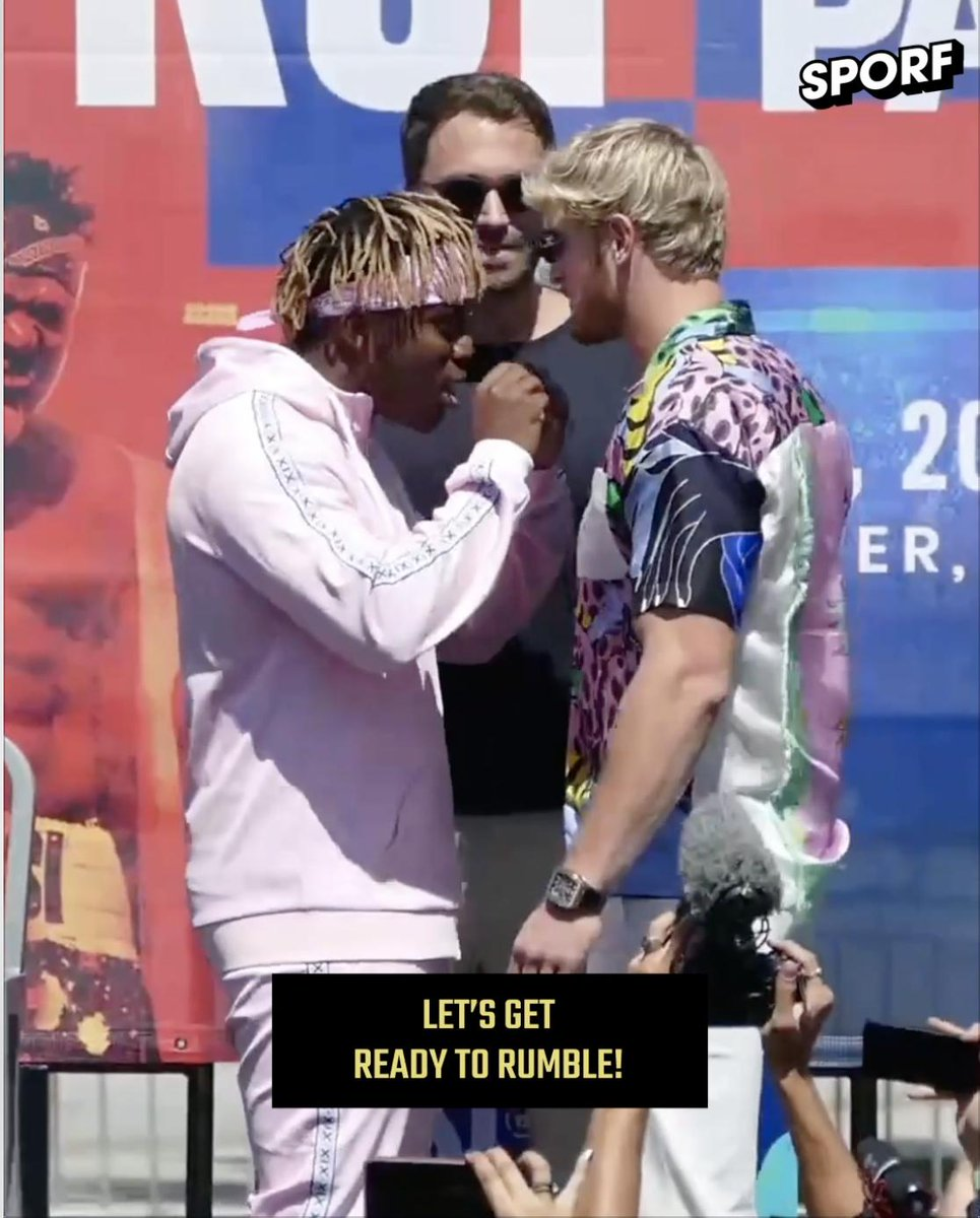 📆 9th November 2019: 🥊 @KSIOlajidebt vs @LoganPaul 🇺🇸 Staples Centre, LA 👊 Professional fight, no head-guards, 10oz gloves. 🗣 I think the boxing community is a bit hesitant, and I get it, to let two YouTubers come in and be professional in their sport. 💥 Sparks fly.