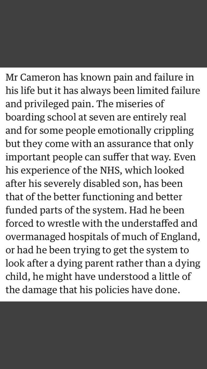 These aren't just the ugly thoughts of a maverick columnist. These are the words of the actual Guardian editorial. It is their corporate view. It is stomach churningly revolting.