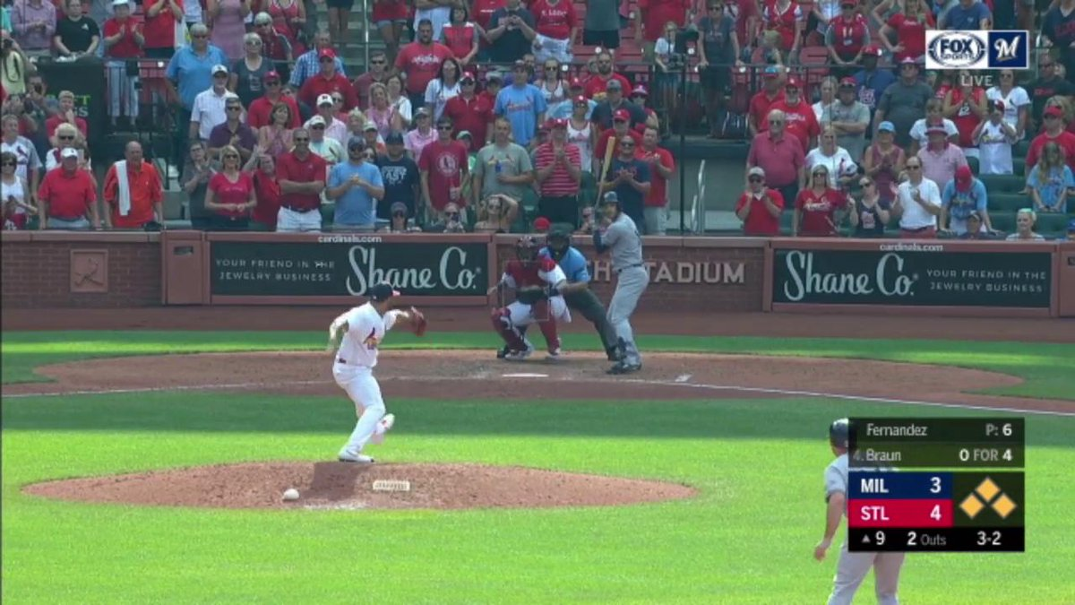 Ryan Braun's Clutch Grand Slam vs the Cardinals