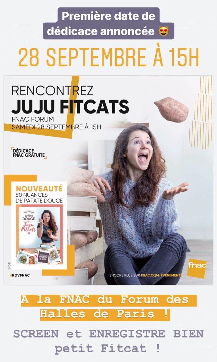 Juju Fitcats On Twitter Premiere Date De Dedicaces De Mon