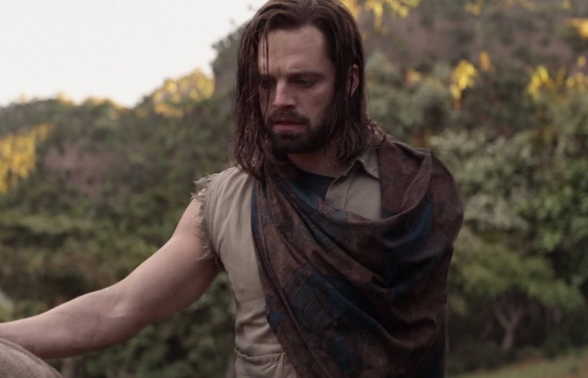 "on Twitter: ""i will never get over the difference between black panther  bucky and infinity war bucky... literally what happened.… """