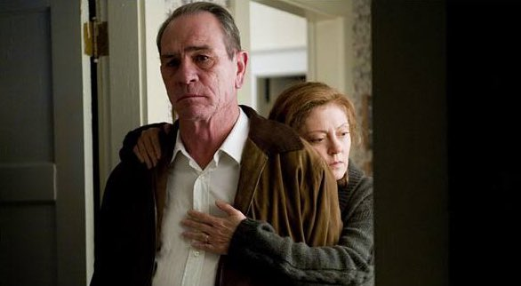 Happy birthday Tommy Lee Jones. He is always great, but I found him specially moving in In the valley of Elah.