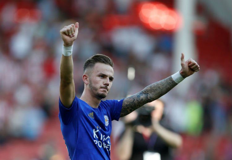 """Brendan Rodgers on James Maddison:""""He's got big potential. I think he's going to improve in his game and the management of his game, but he's a big talent and we're just trying to prepare him in order for him to play at the highest level for as long as he can.""""#LCFC #PL"""