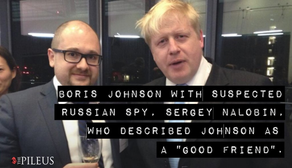Oh dear #LiarJohnson one of your own employees in cahoots with a Russian spy which puts your lot at the telegraph and his mate Trump in a comprising position. #awkward #r4today #PoliticsLive #newsnight #NeverTrustATory #SocialistSunday #JC4PM